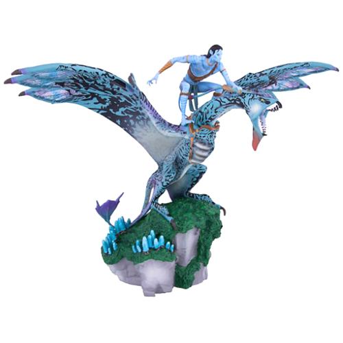 Disney Figurine Pandora The World Of Avatar Jake Riding