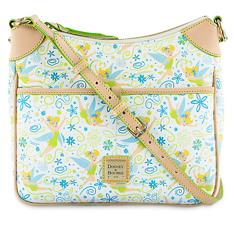 Disney Dooney Amp Bourke Tinker Bell Floral Crossbody Bag