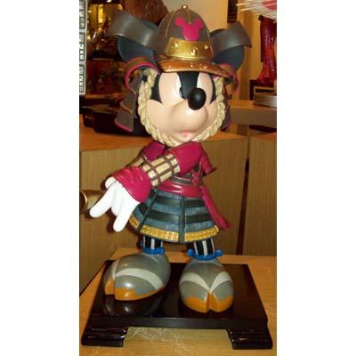 Disney Big Figure Statue Samurai Mickey Mouse