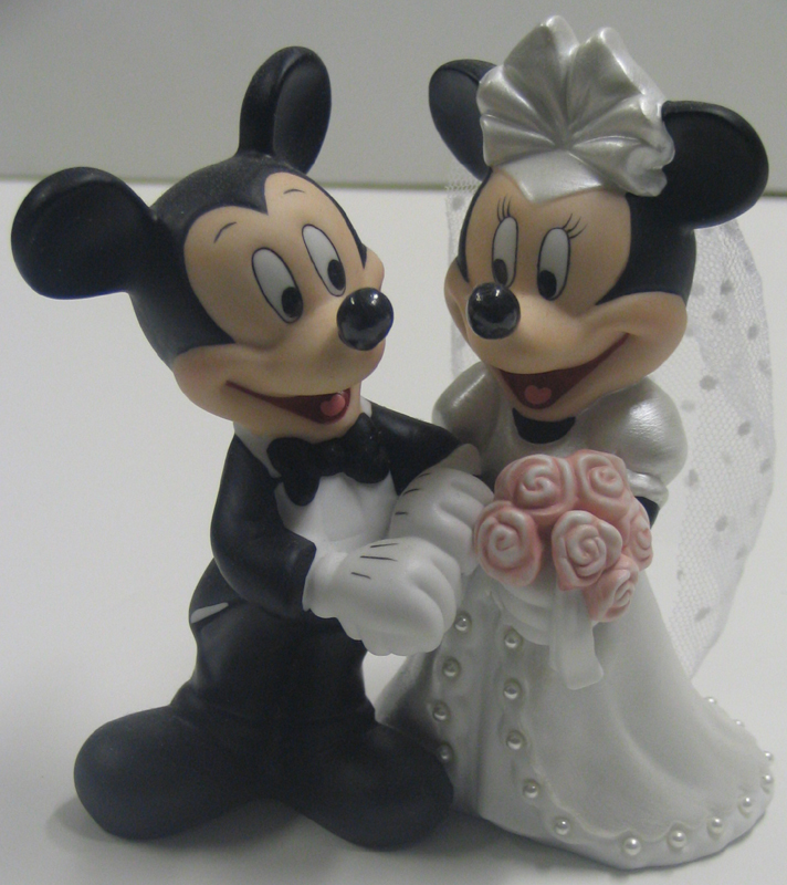 Minnie And Mickey Mouse Wedding Cake Topper Cake Recipe