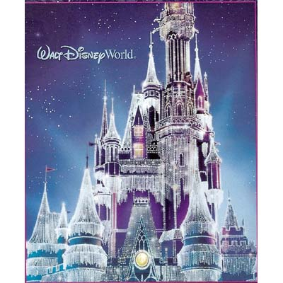 Your WDW Store Disney Throw Blanket Christmas Holiday