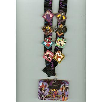 Disney Deluxe Pin Starter Set Villains