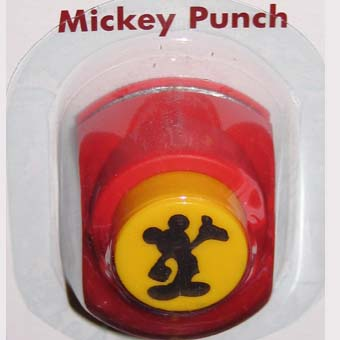 Your WDW Store Disney Scrapbooking Paper Punch Mickey