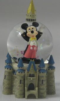 Disney Snow Globe Mickey Mouse Amp Cinderella Castle