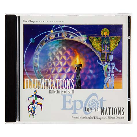 Your WDW Store Disney CD Epcot Illuminations