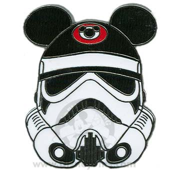 Disney Star Wars Pin Stormtrooper With Ear Hat