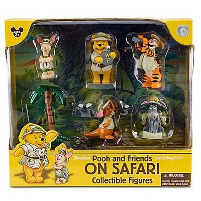 Disney Figurine Set Pooh And Friends On Safari