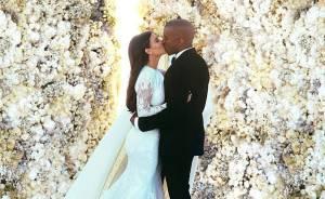 Kim and Kanye, favourite celebrity wedding