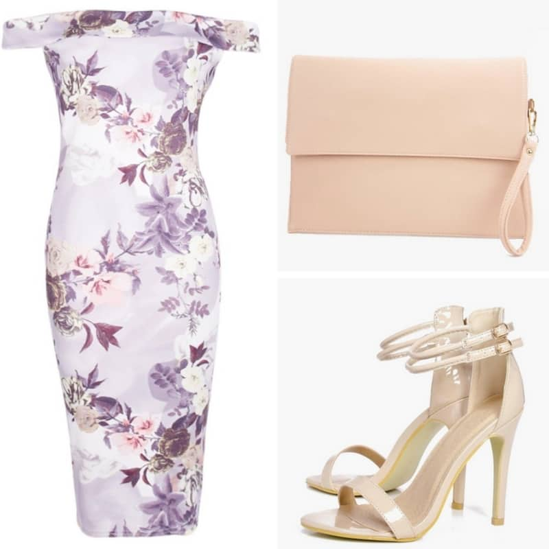 bargain wedding guest outfit