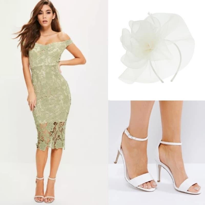 affordable green occasion outfit