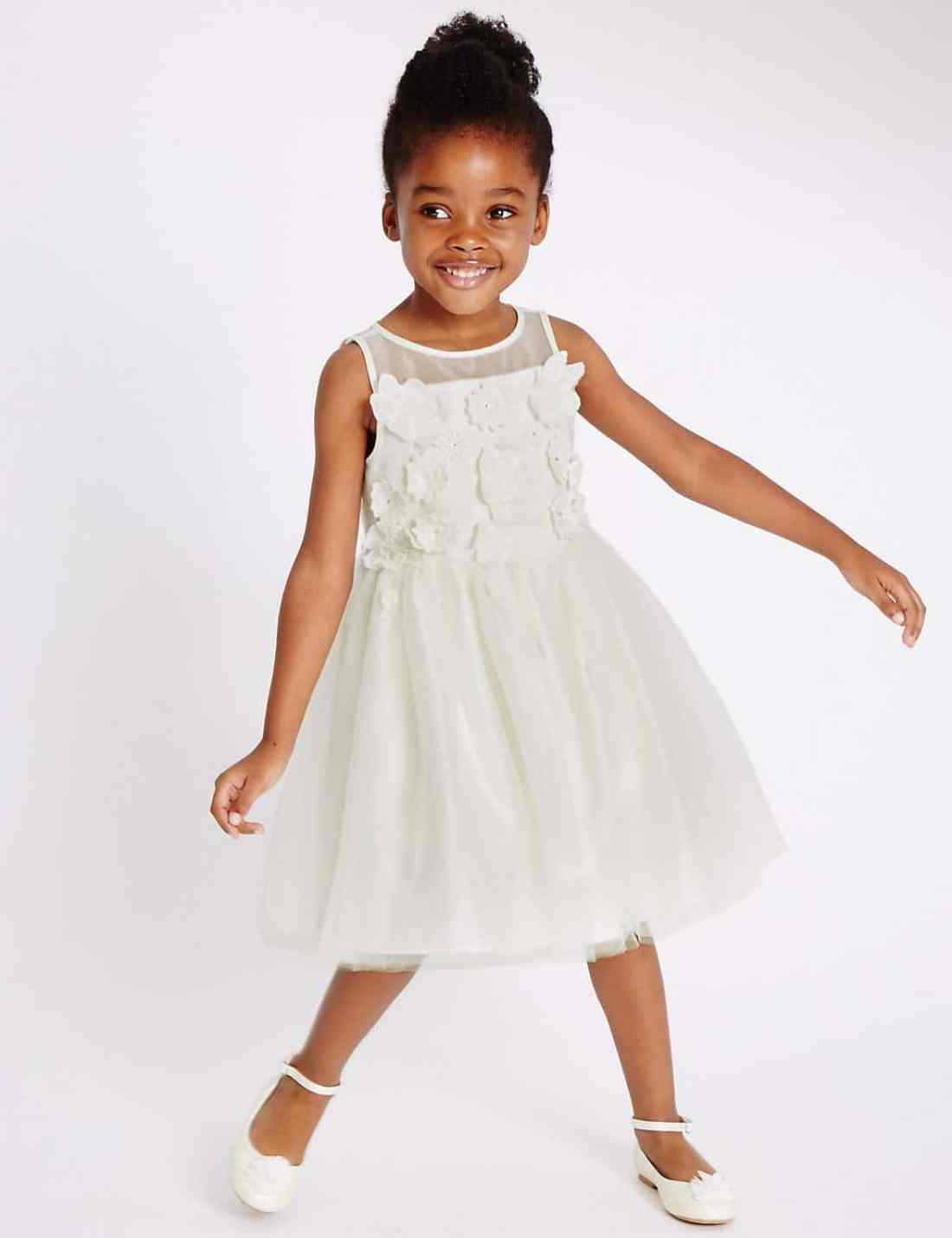 Marks and Spencer flower girl dress