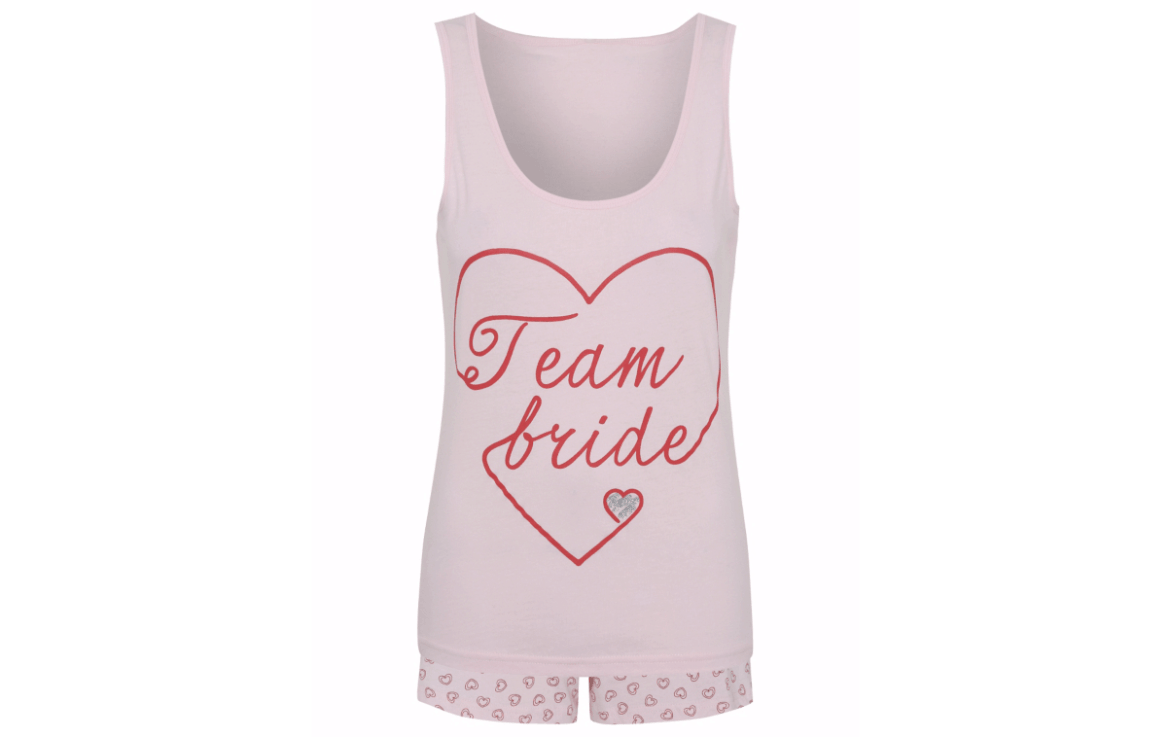 team bride pjs blog