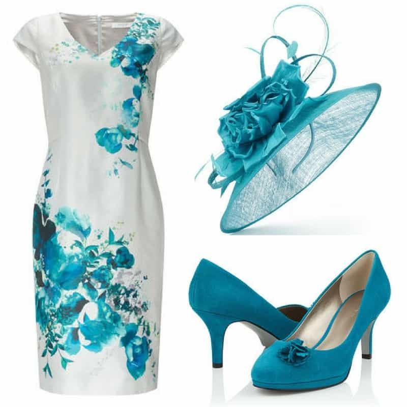 white and blue jacques vert outfit