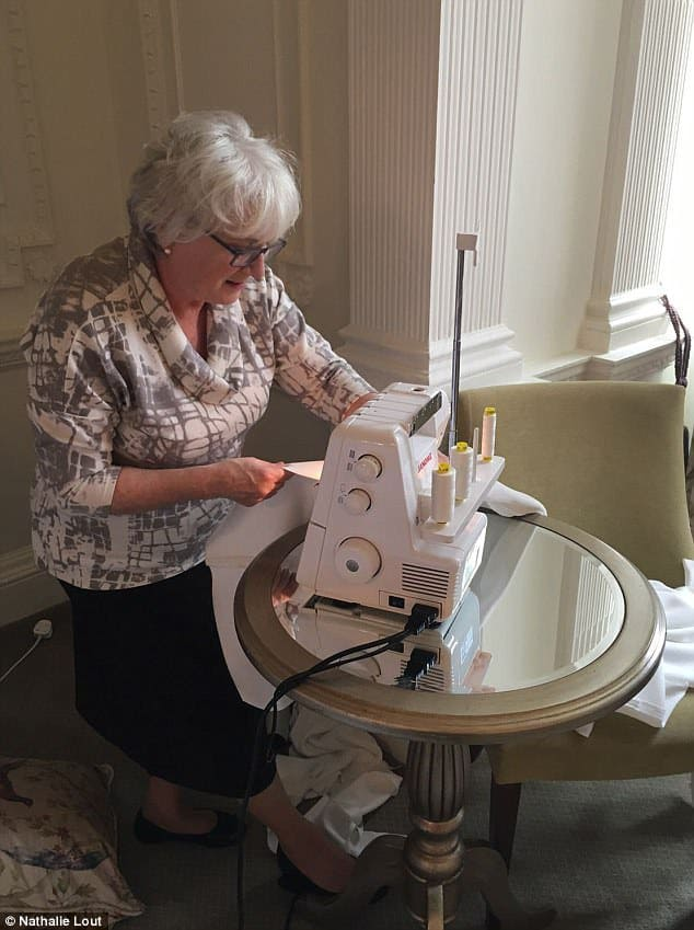 seamstress saves the day