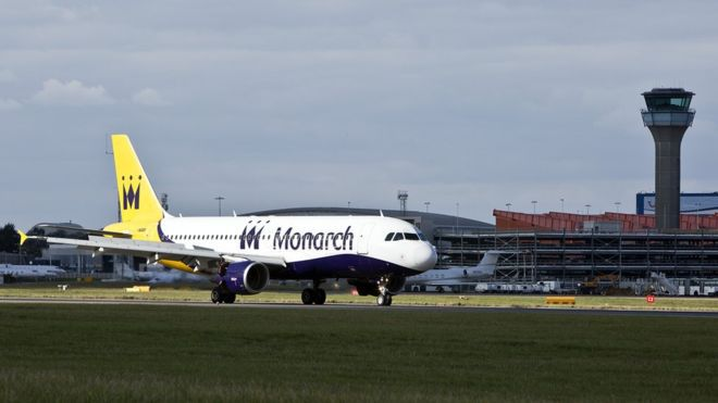 monarch airlines affects wedding