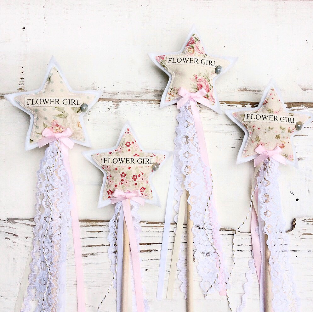 flower girl wand