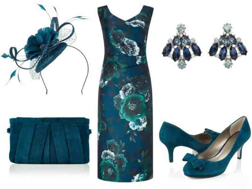 Jacques Vert green occasion outfit