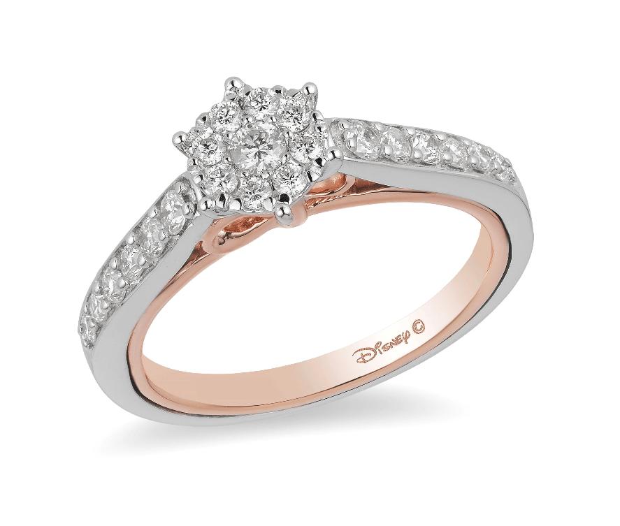 snow white inspired ring