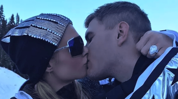 Paris Hilton Engaged