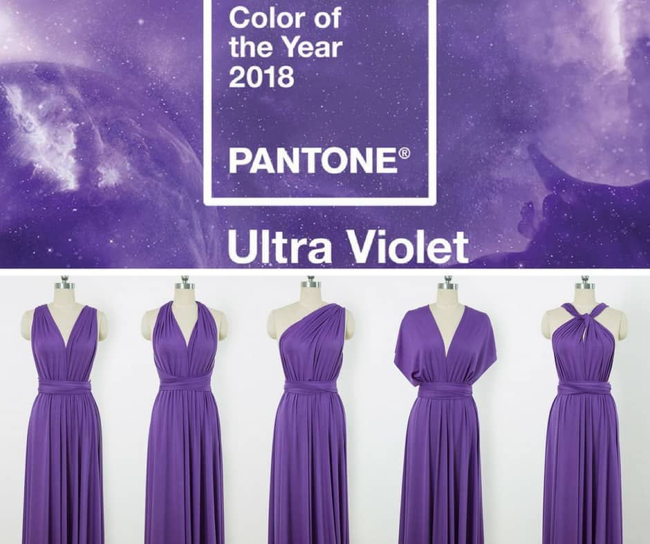 ultra violet wedding trend