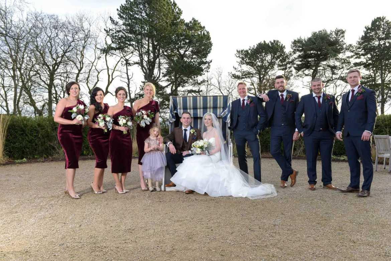 real bridal party