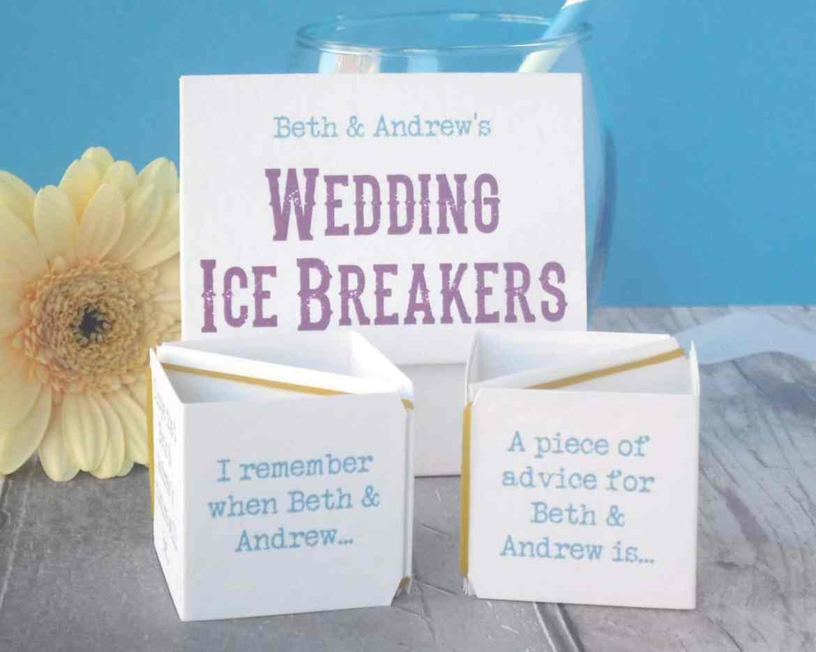 wedding ice breakers