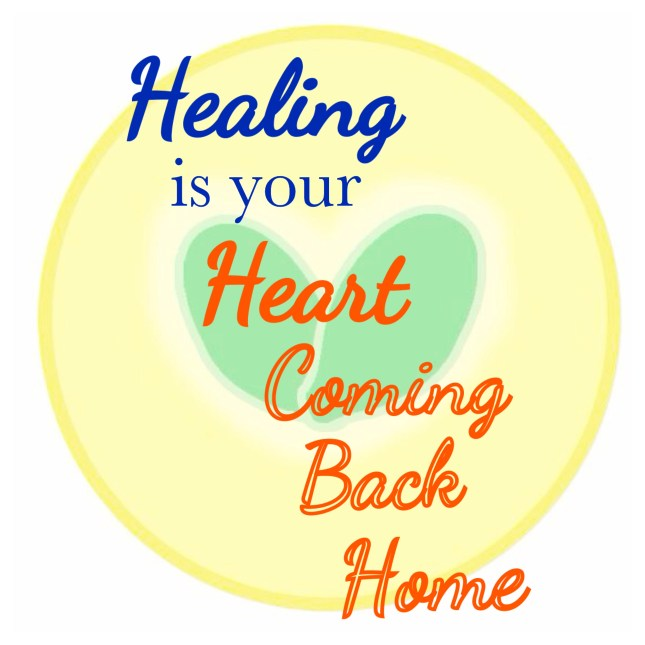 As you heal, you will be coming back home to your authentic self :)
