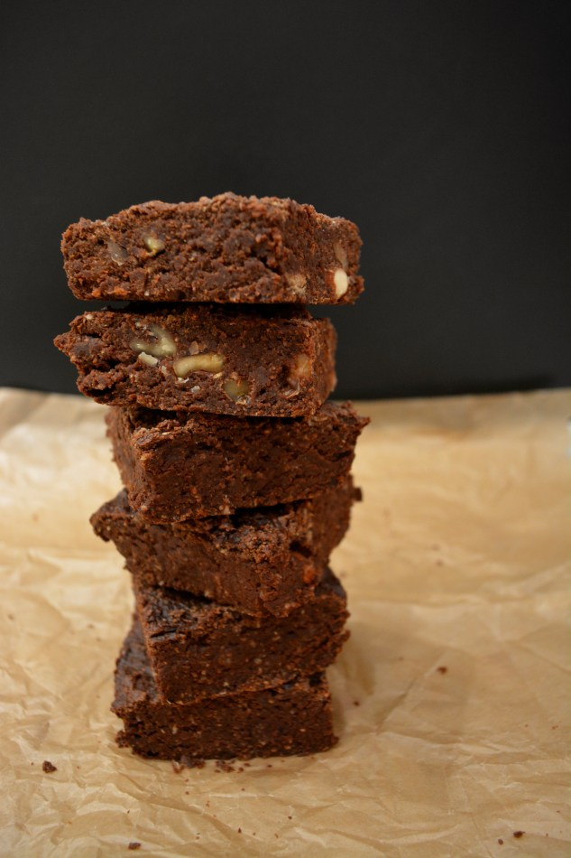 How high can you stack a batch of delicious brownies? :)