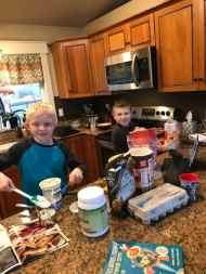 Kids Baking Muffins