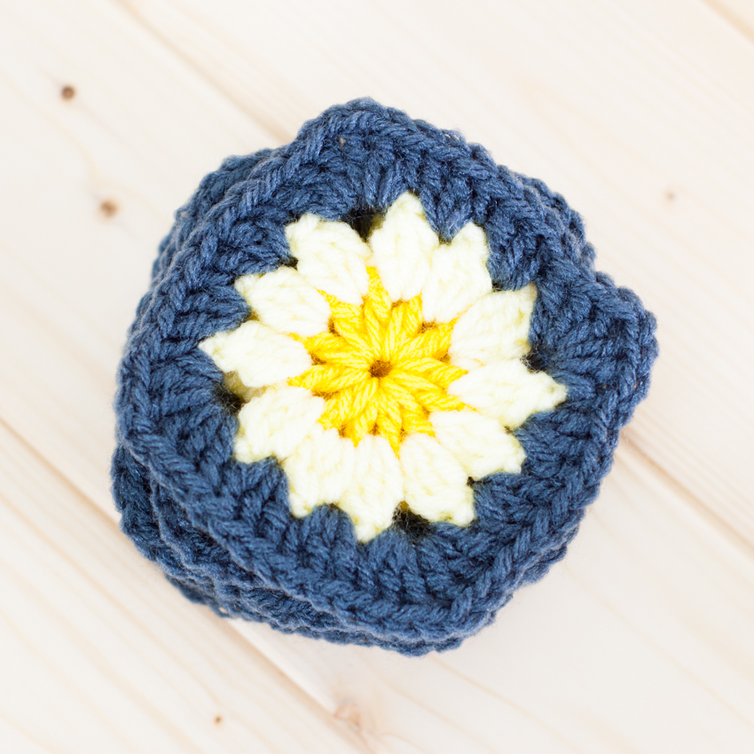 Daisy Granny Square Pillow - Free Crochet Pattern | Page 2 of 2 ...