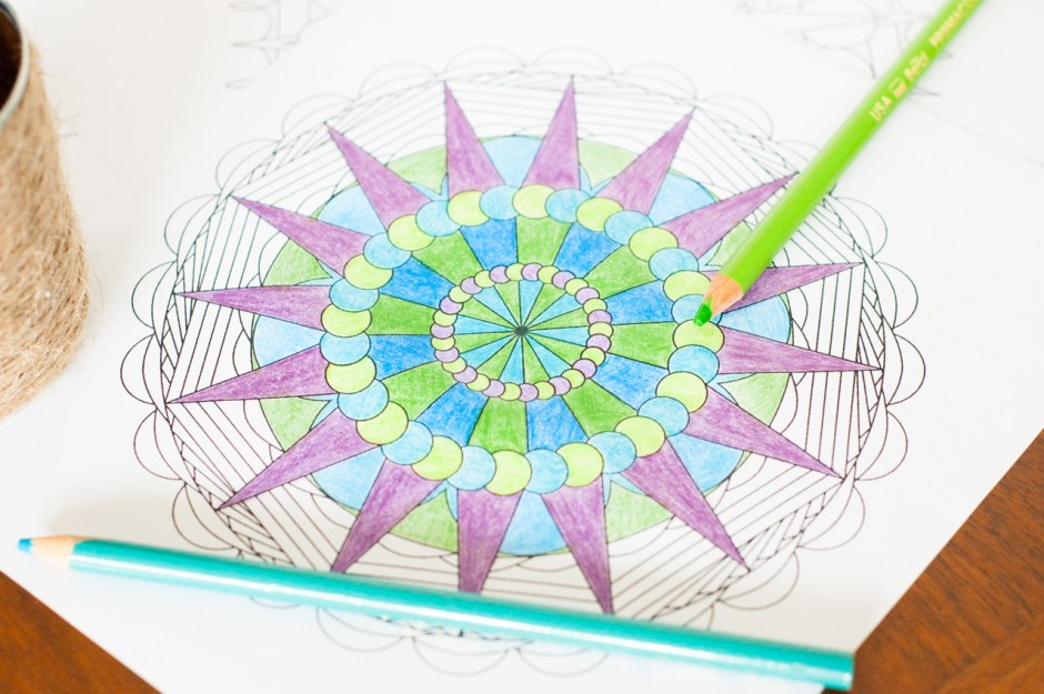 Ever wondered how to create your own mandala adult coloring pages? Learn how now, and never run out of material! Plus sign-up to download 5 free coloring pages.