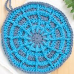 Wagon Wheel Potholder – Free Crochet Pattern