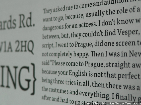 vesper typeface preview image 5