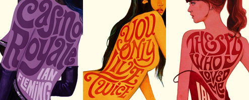 New james bond book covers