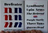 Beefeater typefamily