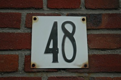 Den Haag House Numbers = Diverse and Interesting