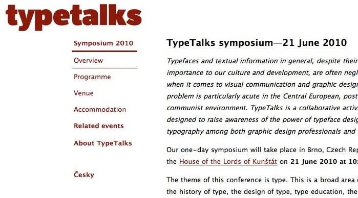 TypeTalks comes to Brno, Czech Republic