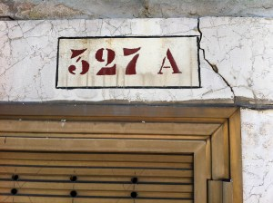 Venice House Numbers