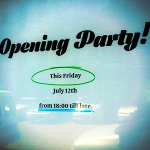 Mastering Type 13 Opening Party this Friday!