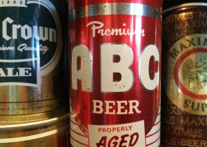 Beer Can Typography