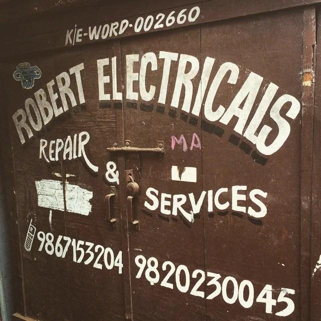 Robert Electricals in Bombay.