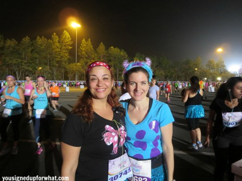 With Cindy at the start