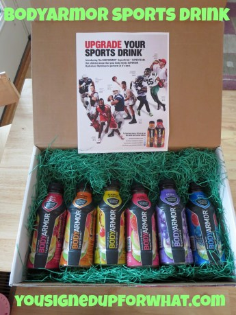 Body Armor Sports Drink box