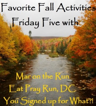 Friday Five Favorite Fall Activities