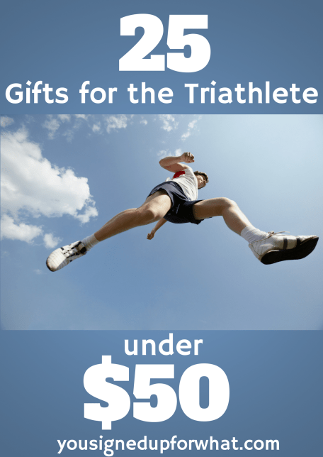 25 gifts for the triathlete under $50
