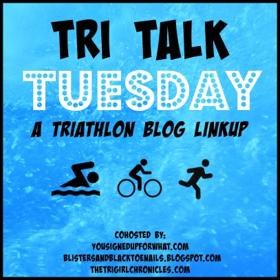 Tri Talk Tuesday triathlon blog linkup