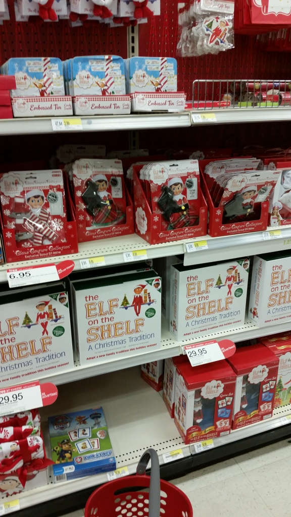 Elf on the Shelf in Target