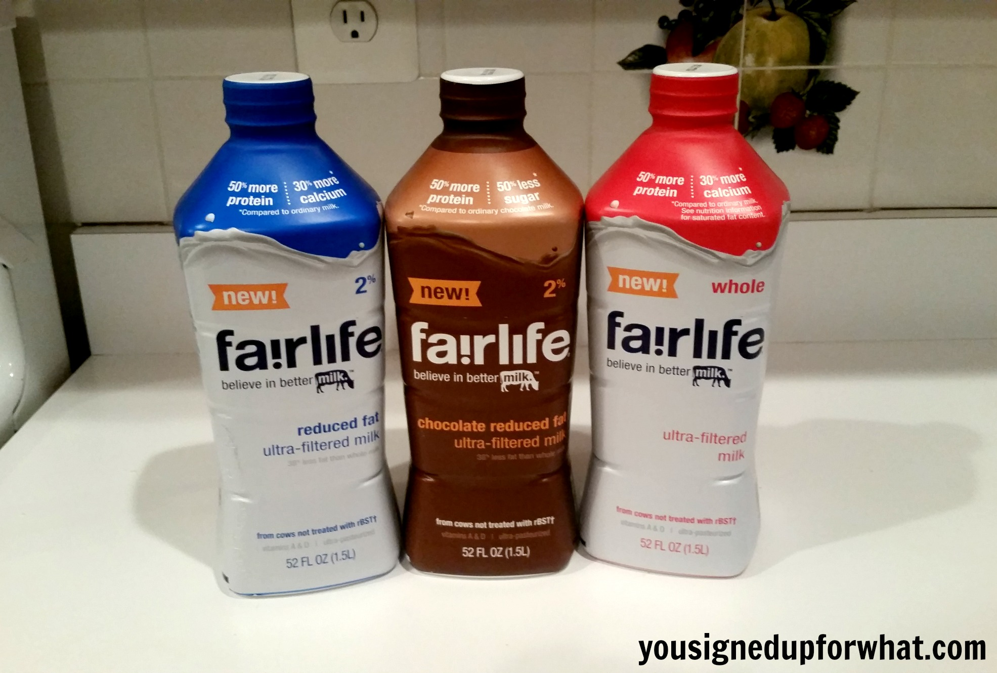 Protein Packed: fairlife ultra-filtered milk - You Signed Up For ...