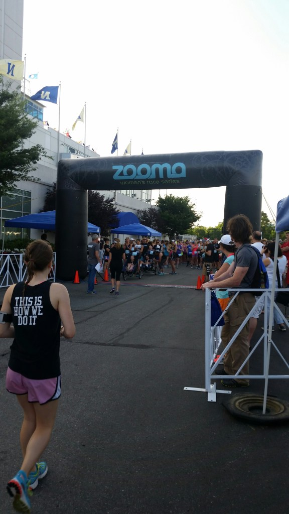 ZOOMA Annapolis starting line