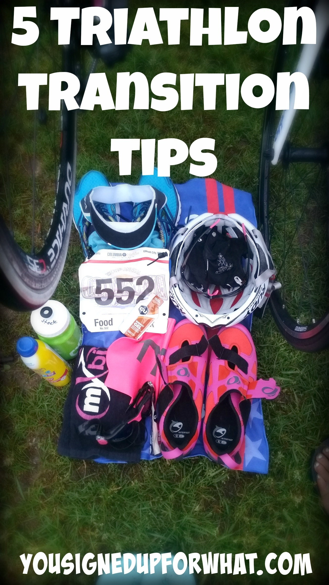 how to transition from bike to run